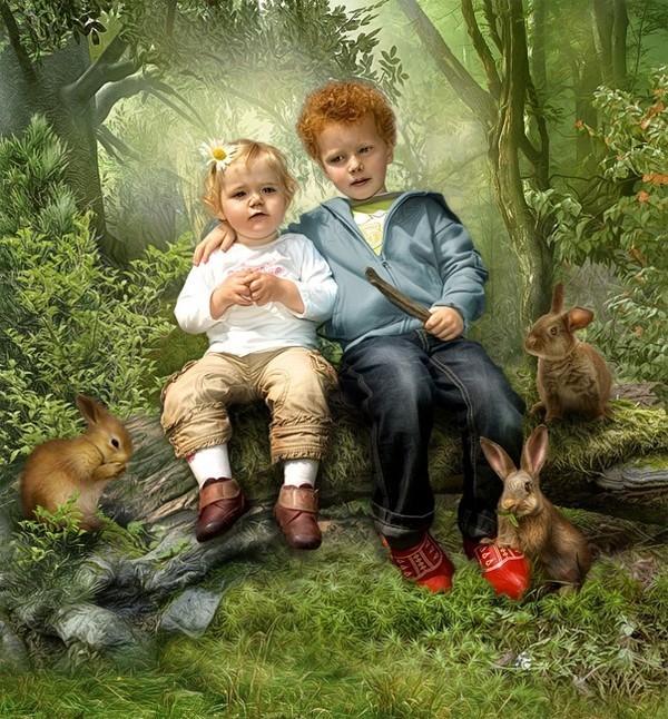 le monde de l'enfance
